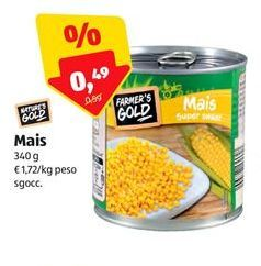 Offerta per Mais Nature's gold a 0,49€