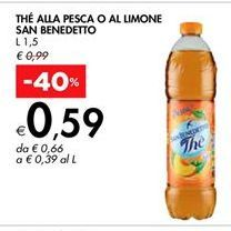 Offerta per The San Benedetto a 0,59€