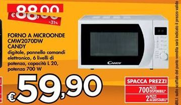 Offerta per Forno a microonde Candy a 59,9€