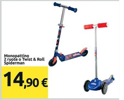 Offerta per Monopattino Spiderman a 14,9€