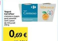 Offerta per Yogurt Carrefour a 0,69€
