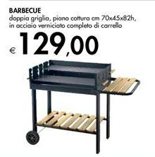 Offerta per Barbecue a 129€