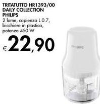 Offerta per Tritatutto daily collection philips a 22,9€
