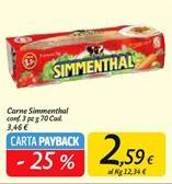Offerta per Carne in scatola Simmenthal a 2,59€