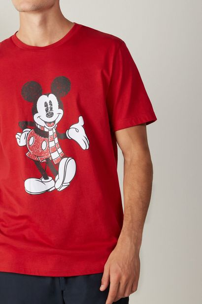 Offerta per T-shirt in Cotone Stampa Mickey a 19,9€
