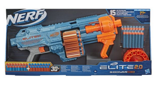 Offerta per Nerf Elite 2.0 Shockwave Rd 15 a 33,9€