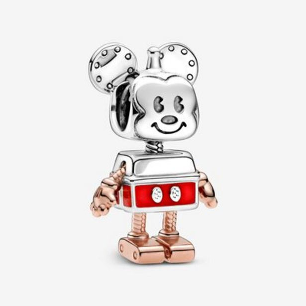 Offerta per Disney, charm Mickey Mouse robot a 79€
