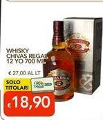 Offerta per Whisky Chivas Regal a 18,9€