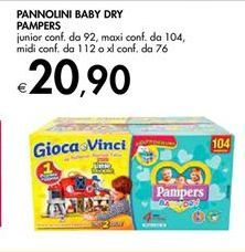 Offerta per Pannolini baby dry pampers a 20,9€