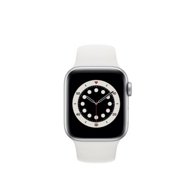 Offerta per Apple Watch Series 6 GPS + Cellular 40mm Argento a 19,99€
