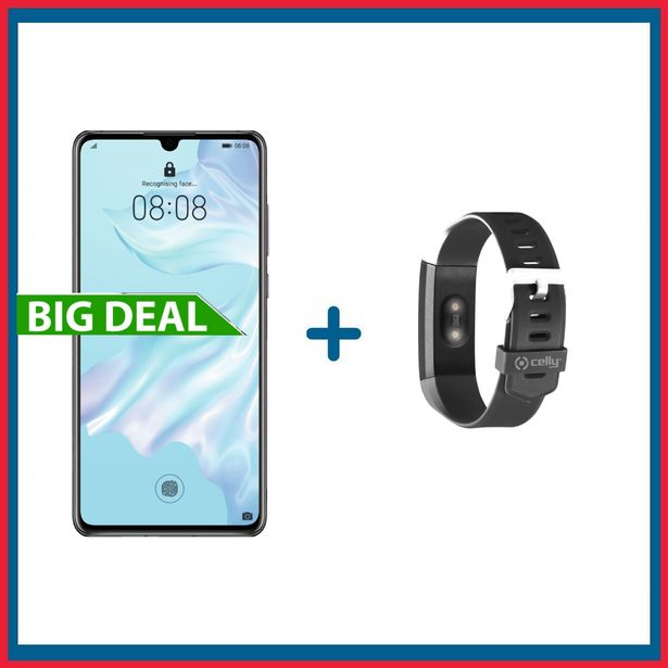 Offerta per Huawei P30 128GB + Fitness Tracker HR Thermo a 268,9€