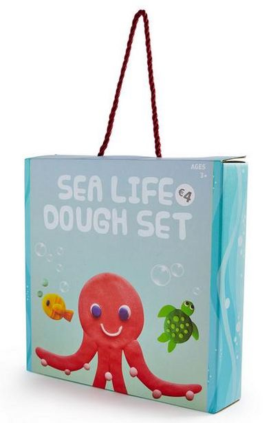 Offerta per Set pasta modellabile Sea Life a 4€