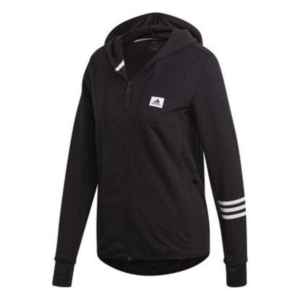 Offerta per ADIDAS - FELPA CON CAPPUCCIO DESIGNED TO MOVE MOTION FULL-ZIP a 38,46€