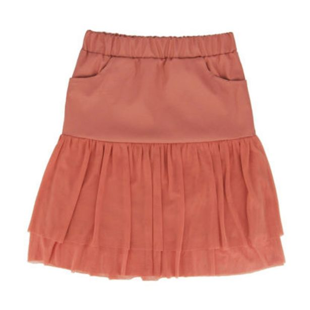 Offerta per ANNES NICOLE - GIRL GONNA ECOPELLE+TULLE a 10€