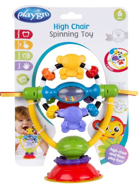 Offerta per Playgro - high chair spinning toy a 8,57€