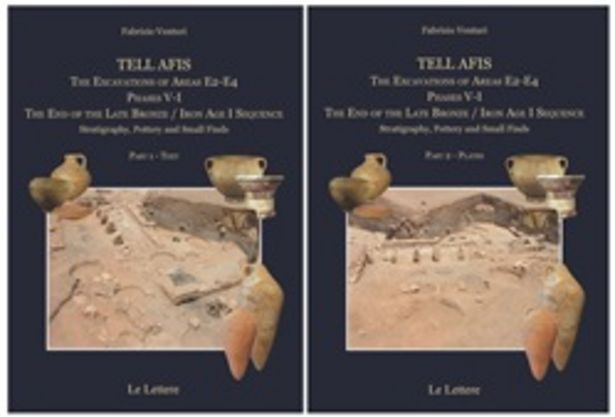 Offerta per Tell afis. The excavations of Areas E2-E4. Phases V-I. The Iron Age I sequence. Stratigraphy, pottery and small finds a 85,5€
