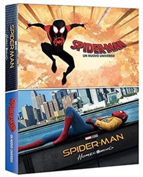 Offerta per Spider-Man: Un Nuovo Universo / Spider-Man: Homecoming (2 Blu-Ray) a 11,39€