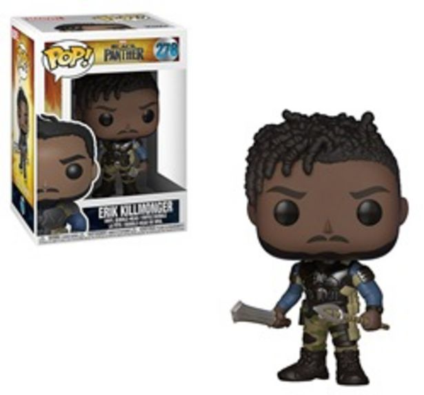 Offerta per Figure POP! Marvel Bl.Panther-Killmonger a 15,99€