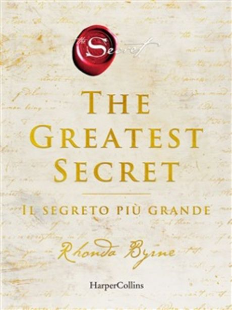 Offerta per The greatest secret. Il segreto più grande a 18,52€
