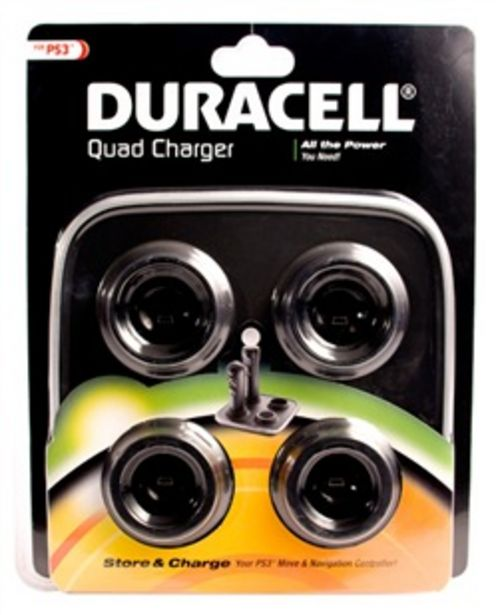 Offerta per Quad Charger Move Duracell Ps3 a 19,9€