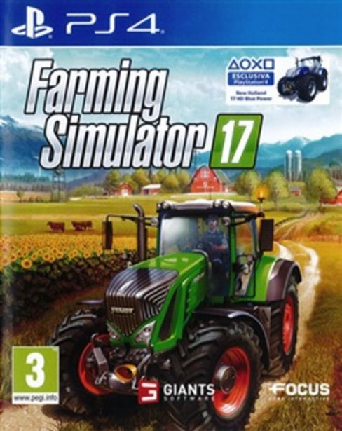 Offerta per Farming Simulator 17 Ps4 a 49,99€