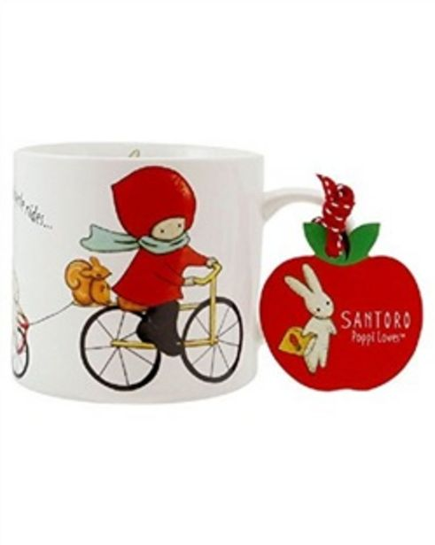 Offerta per Tazza maxi Poppi Loves. Cycling a 12,8€