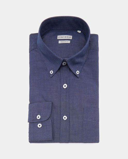 Offerta per Camicia casual regular fit uomo a 16,99€