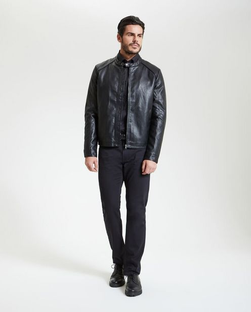 Offerta per Giacca in similpelle uomo a 54,99€