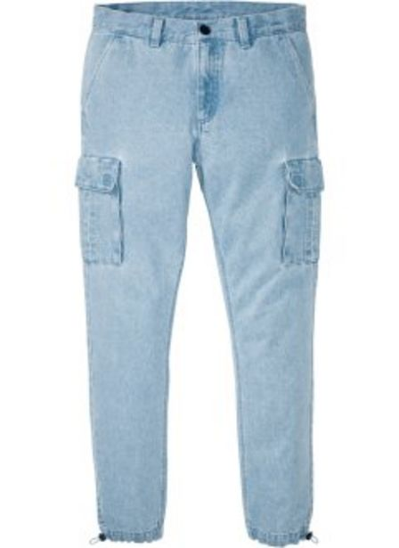 Offerta per Jeans cargo regular fit straight a 12,99€
