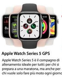 Offerta per Apple Watch Series 5 GPS 40 MM a 449€