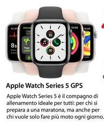 Offerta per Apple Watch Series 5 GPS 44MM a 479€