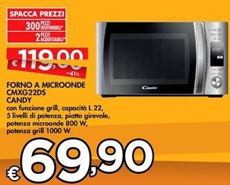 Offerta per Foro a microonde candy a 69,9€