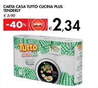 Offerta per CARTA CASA TUTTO CUCINA PLUS TENDERLY a 2,34€