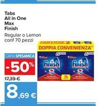 Offerta per Tabs All in One Max Finish a 8,69€