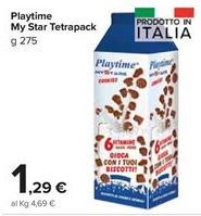 Offerta per Playtime my star tetrapack a 1,29€