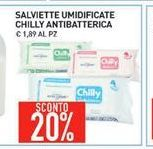 Offerta per Salviette umidificate Chilly antibatterica a