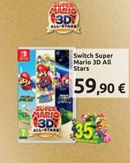 Offerta per Switch super mario 3D all stars a 59,9€