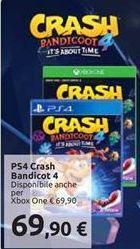 Offerta per PS4 crash bandicot 4 a 69,9€