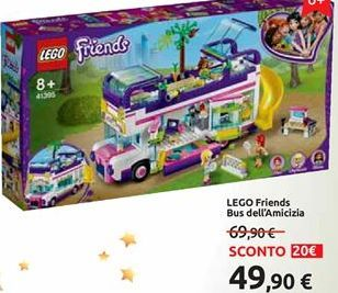 Offerta per Lego friends bus dell'amicizia a 49,9€