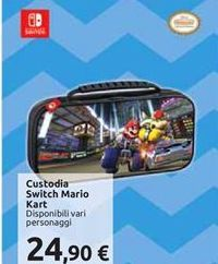 Offerta per Custodia switch mario kart a 24,9€
