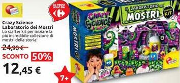 Offerta per Crazy science laboratorio dei mostri a 12,45€