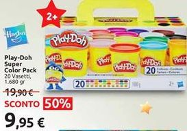 Offerta per Play Doh super color pack a 9,95€