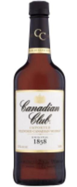 Offerta per Canadian Club Imported Blended Canadian Whisky 70cl a 15,5€