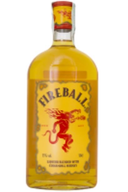 Offerta per Fireball Liqueur Blended With Cinnamon And Whisky 50cl a 14,37€