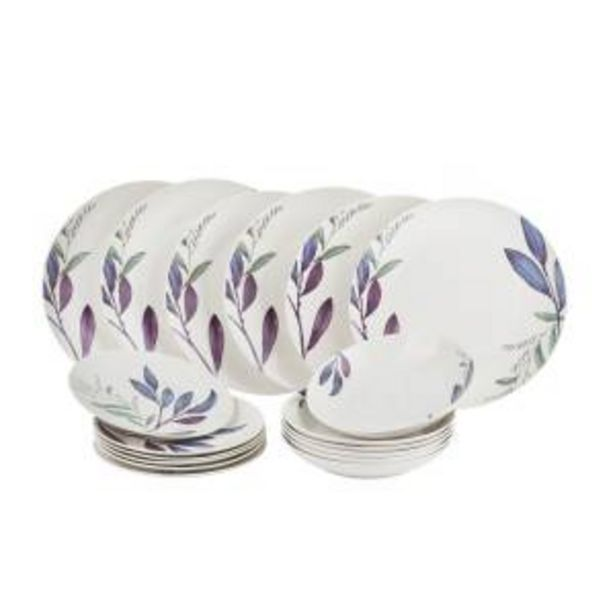 Offerta per SET PIATTI MIZAK IN NEW BONE CHINA, DA 18 PEZZI a 69,9€