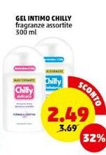 Offerta per Gel intimo Chilly 300ml a 2,49€