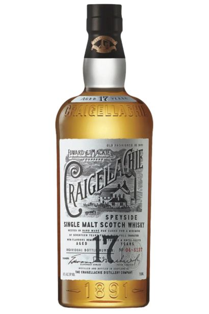 Offerta per Craigellachie 17 Anni Speyside Single Malt Scotch Whisky 70cl a 73€