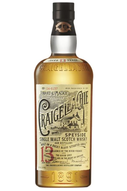 Offerta per Craigellachie 13 Anni Speyside Single Malt Scotch Whisky 70cl a 37,9€