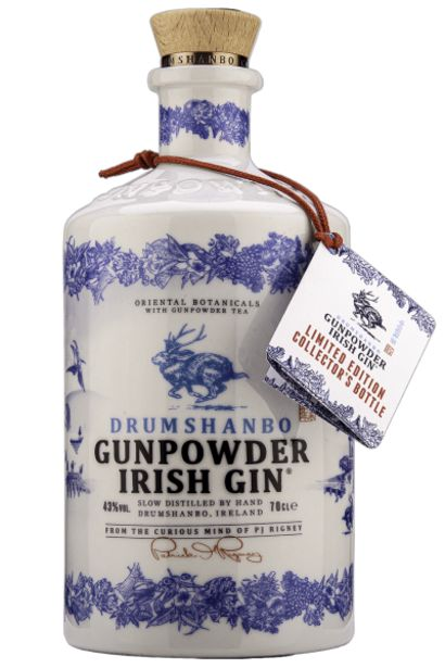 Offerta per Gunpowder Irish Gin Ceramic Bottle 70cl a 32€