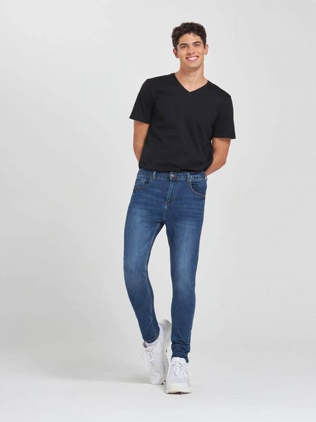 Offerta per Jeans carrot fit Blu denim scuro a 19,99€